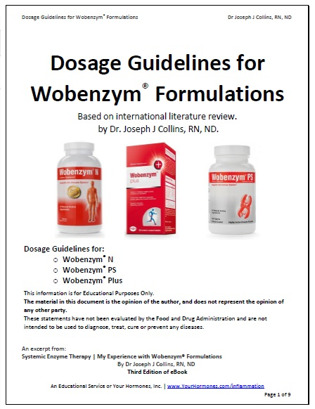 Dosage Guidelines for Wobenzym® Formulations