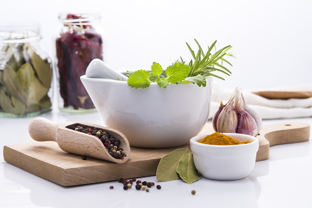 : Carminative culinary herbs improve digestion and decrease gas in the gastrointestinal trac.