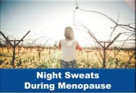 Night Sweats During Menopause