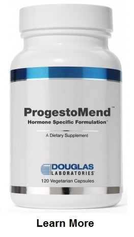 The primary functions of ProgestoMend™ are to support the natural production of progesterone and supports how tissues throughout the body respond to progesterone.